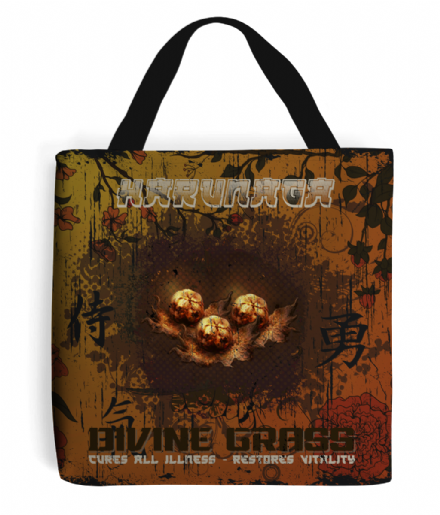 Harunaga Divine Grass Tote Bag Inspired by Sekiro